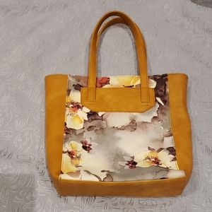 Espe brown floral bag